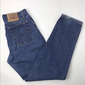 Vintage 90s Levis 560 Straight Leg Mom Jeans